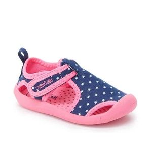 Oshkosh B'gosh toddler aquatic shoes sz 9,10,11,12